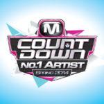 日本開催決定!『M COUNTDOWN No.1 Artist of Spring 2014』