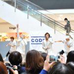 CODE-V 8th シングル『Spring Love』リリースイベント in イオンモール福岡