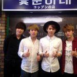 韓国映画『国際市場で逢いましょう』公開記念、「国際市場」新大久保店が<br>期間限定でオープン!<br>オープン初日14日には、人気K-popグループ・SHU-Iが一日店長として来店!