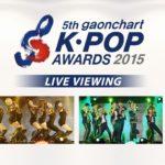 韓国を代表する大衆音楽チャート、「Gaonチャート」が開催するK-POPアワード授賞式ライブ・ビューイング開催決定!