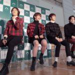 N.Flying(エヌフライング)日本メジャー・デビュー・シングル「Knock Knock」発売記念トーク・イベント開催、アカペラでサプライズ・パフォーマンスも披露!<br><オフィシャルレポート>