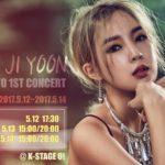 JEON JI YOON in TOKYO~1st CONCERT~開催決定!