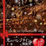 輝き、煌めき、トキメキ。佐賀県武雄市で「TAKEO・世界一飛龍窯灯ろう祭り2018」を開催!
