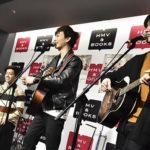 noovy  日本2ndシングル「Singin' for you」リリース記念・フリーライブツアー<br>2018/1/26(金) HMV&BOOKS HAKATA  F.A.E.P.レポート