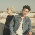 SUPER JUNIOR-D&E 、 韓国アーティスト初!「コップのフチ子」とコラボレーションが実現!! ついにコップのフチに舞い降りたD&Eのビジュアルが解禁!!