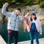 佐賀県観光連盟とYouTuber「釣りいろは」がタイアップ動画撮影!玄界灘の絶景釣り堀が登場!