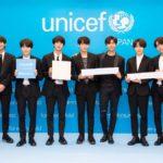 世界的ヒップホップボーイズグループ BTS (防弾少年団) が応援する ユニセフ#ENDviolenceキャンペーン <br>子ども、青少年に対する暴力の撲滅を目指す